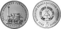 5 Mark 1988 Deutsche Demokratische Republik Saxonia - First railway in ... 9,00 EUR  +  10,00 EUR shipping