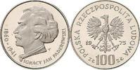 100 Zloty 1973 Polen - Polska - Poland Ignacy Paderewski Polierte Platte  12,00 EUR