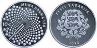 10 EUR  2014 Estland Estonia Eesti 150th birthday of Miina Härma compos... 56,00 EUR  excl. 10,00 EUR verzending