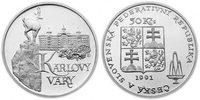 100 Kronen 1991 CSR/CSSR/CSFR - Tschechoslowakei Karlovy Vary - Karlsba... 12,00 EUR  +  10,00 EUR shipping