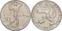 50 Kronen 1948 CSR / CSSR / CSFR - Tschechoslowakei 3rd Anniversary of ... 9,00 EUR  +  10,00 EUR shipping