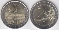 "2-EURO 2015 Luxemburg 50 years Charlotte- bridge""   4,00 EUR  +  10,00 EUR shipping"
