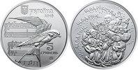 5 Hriwen 2015 Ukraine Shchedryk - Leontovych`s arrangement unzirkuliert... 12,00 EUR