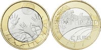 5 Euro 2015 Finnland - Suomi - Finland Volleyball  - Sports coin from F... 9,00 EUR