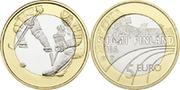 5 Euro 2015 Finnland - Suomi - Finland Ice hockey - Sports coin from Fi... 9,00 EUR
