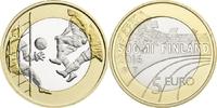 5 Euro 2015 Finnland - Suomi - Finland Futball - Sports coin from Finla... 9,00 EUR  +  10,00 EUR shipping