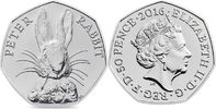 50 Pence 2016 Großbritannien - Great Britain Beatrix Potter - writer un... 15,00 EUR  +  10,00 EUR shipping