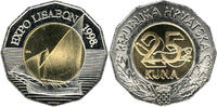 25 Kuna 1998 Kroatien - Croatia - Hrvatska Expo World Exhibition in Lis... 7,00 EUR  +  10,00 EUR shipping