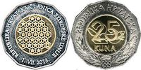 25 Kuna 2013 Kroatien - Croatia - Hrvatska Croatia - member of the Euro... 6,00 EUR  +  10,00 EUR shipping