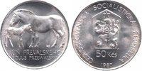 50 Kronen 1987 CSR / CSSR / CSFR - Tschechoslowakei Horses - Przewalski... 13,00 EUR  +  10,00 EUR shipping
