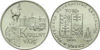 50 Kronen 1991 CSR / CSSR / CSFR - Tschechoslowakei Karlovy Vary / Karl... 12,00 EUR  +  10,00 EUR shipping