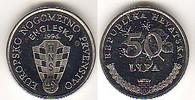 50 Lipa 1996 Kroatien Croatia European Soccer Championship Stgl. BU  2,00 EUR  +  10,00 EUR shipping