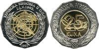 25 Kuna 1997 Kroatien - Croatia - Hrvatska UNO Membership of Croatia un... 7,00 EUR  Excl. 10,00 EUR Verzending