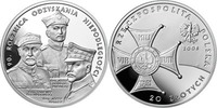 20 Zlotych 2008 Polen - Poland - Polska Independence 90 years proof PP  24,90 EUR  +  10,00 EUR shipping