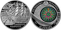 20 Rubel 2010 Belarus - Weißrußland Amerigo Vespucci (Segelschiff) BU f... 69,00 EUR