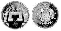 "1 Lats 2011 Lettland Latvija Ruhenthal Castle – Rundales pils"" Polierte... 56,00 EUR  +  10,00 EUR shipping"