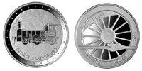 1 Lats (mit Box und Certifcate) 2011 Lettland - Latvija - Latvia Railwa... 39,00 EUR