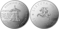 50 Litu + Box 2012 Litauen - Lietuva - Lithuania Dionizas Poska Baublai... 59,00 EUR