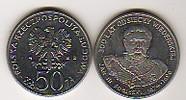 50 Zloty 1983 Polen - Polska - Poland Jan III Sobieski 300 years vitcto... 2,00 EUR