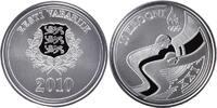 10 Kronen 2010 Eesti - Estland - Estonia XXI. Olympic Winter Games Vanc... 38,00 EUR  Excl. 10,00 EUR Verzending