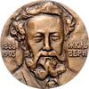 Medaille 1974 Russland Jules Verne st  60,00 EUR  +  10,00 EUR shipping