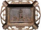 Aschenbecher, gusseisern o.J. Personen Bismarck-Monument in Berlin ss  95,00 EUR  +  10,00 EUR shipping