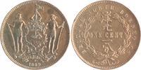 1 Cent 1889 Britisch-Nord Borneo Victoria 1837-1901 f.vz  40,00 EUR  +  10,00 EUR shipping