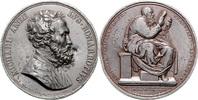 Bleimedaille o.J. Personen Michelangelo ss, kl.Rf., kl.Einhiebe  90,00 EUR  +  10,00 EUR shipping