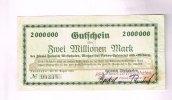 2 Millionen Mark, 22.08.1923 Schleswig-Holstein, Neumünster, III  175,00 EUR157,50 EUR  +  7,00 EUR shipping