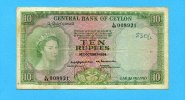 10 Rupees, 1954, Ceylon,  IV,  80,00 EUR  +  7,00 EUR shipping