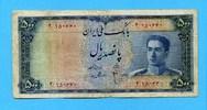 500 Rials, (1951), Iran,  IV,  155,00 EUR125,00 EUR  +  7,00 EUR shipping
