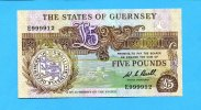 Guernsey, 5 Pounds, (1980-89) I  60,00 EUR 