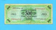 Italien, 500 Lire 1943 III-  80,00 EUR 