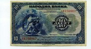 10 Dinara, 1920, Jugoslawien,  III,  99,00 EUR