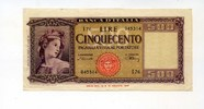 Italien, 500 Lire 1947, II,  130,00 EUR 