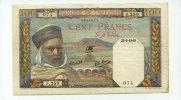 100 Francs, 1940, Algerien,  III,  65,00 EUR