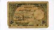 500 francs 1973, Französisch Afars & Issas,  V,  110,00 EUR  +  7,00 EUR shipping