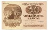 50 Krooni, 1929, Estland,  I,  150,00 EUR  +  7,00 EUR shipping