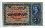 20 Franken, 1950, Schweiz,  III+,  95,00 EUR