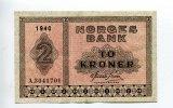2 Kroner, 1940, Norwegen,  III,  68,00 EUR