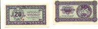 20 Lire, 1945, Jugoslawien/Slovenien, State bank for Istrien,Fiume and ... 165,00 EUR125,00 EUR  +  7,00 EUR shipping