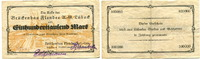 100000 Mark, 1923, Lübeck, Brückenbau-Flender Act.-Ges., III-,  145,00 EUR130,50 EUR  +  7,00 EUR shipping
