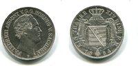 Taler, 1854F, Sachsen, Friedrich August II.1836-1854, vz,  220,00 EUR  +  7,00 EUR shipping