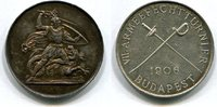 Silberne Preismedaille, 1906 Österreich/Ungarn, VII.Armeefechtturnier B... 85,00 EUR  +  7,00 EUR shipping
