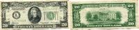 20 Dollars 1934A USA,  III  30,00 EUR