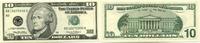 10 Dollars 1999 USA,  Unc  20,00 EUR