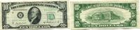 10 Dollars 1950B USA,  III  25,00 EUR