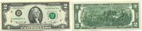 2 Dollars 1976 USA,  Unc  9,50 EUR