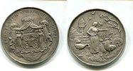 Ag.-Medaille, o.J. Schaumburg-Lippe, Geflügelzucht, vz+,  165,00 EUR