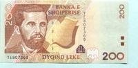 200 Leke 2001 Albanien/Albania,  Unc  5,00 EUR  +  7,00 EUR shipping